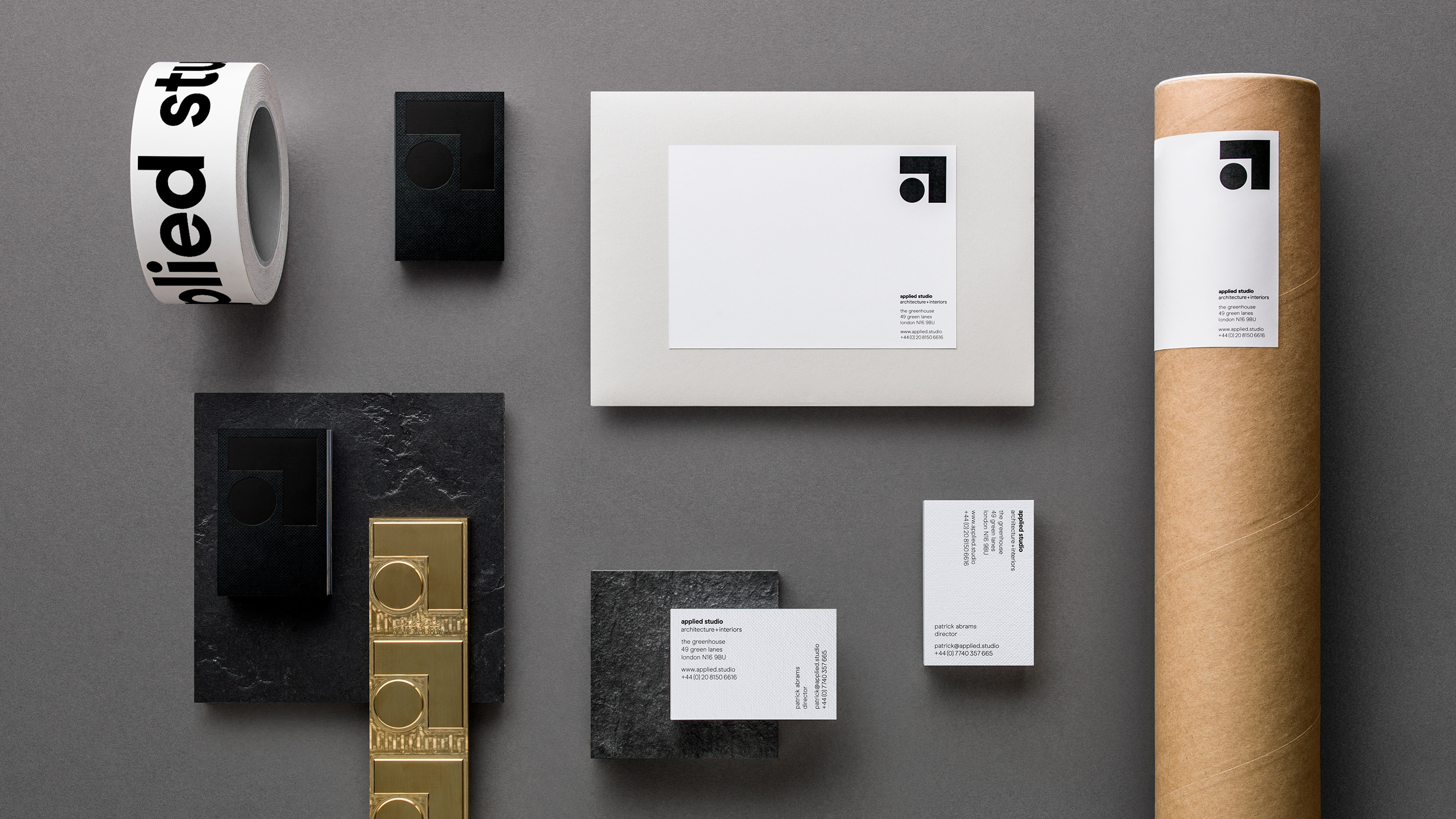 Applied Studio Interior Design Branding Ragged Edge